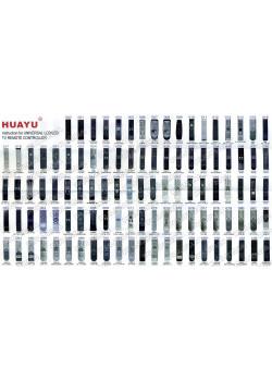 Универсальный пульт HUAYU RM-L1195+ - 2