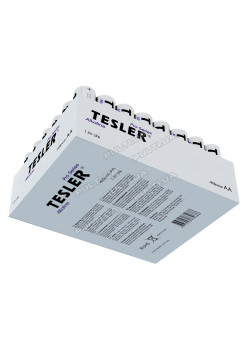 Батарейки TESLER ALKALINE LR06-48 SIZE AA 2 штуки полиэтилен - 2