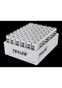 Батарейки TESLER ALKALINE LR06-48 SIZE AA 2 штуки полиэтилен - 1