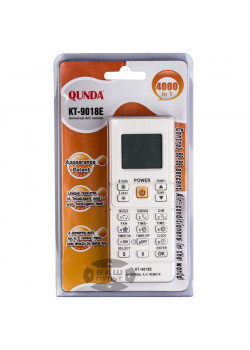 Универсальный пульт для кондиционера QUNDA KT-9018 (4000 кодов) - 3