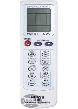 Универсальный пульт HUAYU для кондиционера K-90E (1000 кодов)