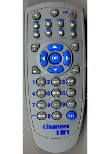Программируемый USB пульт CHANGER HIFI mini DVD