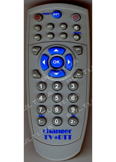 Программируемый USB пульт CHANGER TV+DTT USB mini