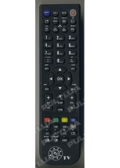 Программируемый USB пульт CHANGER TV HR-54B