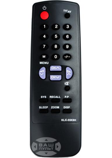 Пульт для CHINA TV KLX-55K9H (HQ)