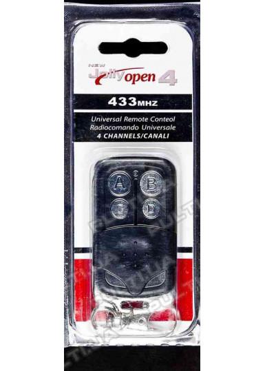 Пульт для гаражных ворот и шлагбаумов JOLLY OPEN 4