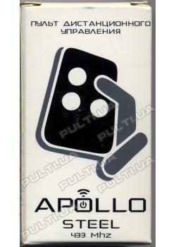 Пульт для гаражных ворот и шлагбаумов APOLLO STEEL