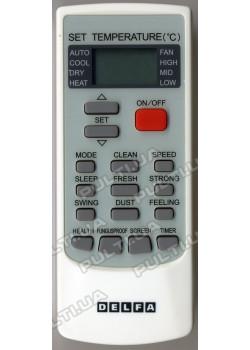 Оригинальный пульт для кондиционера DELFA YKR-H/002E