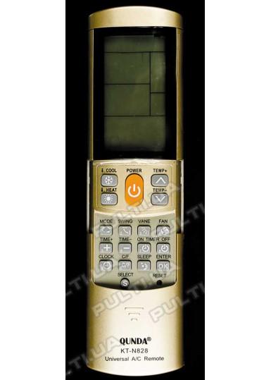 Универсальный пульт для кондиционера QUNDA KT-N828 (2000 кодов)