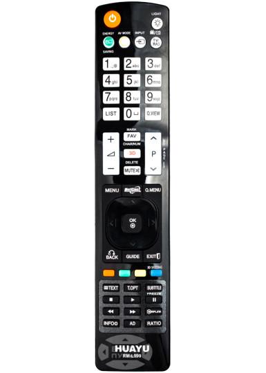 Универсальный пульт HUAYU для LG RM-L999 (2 кода)