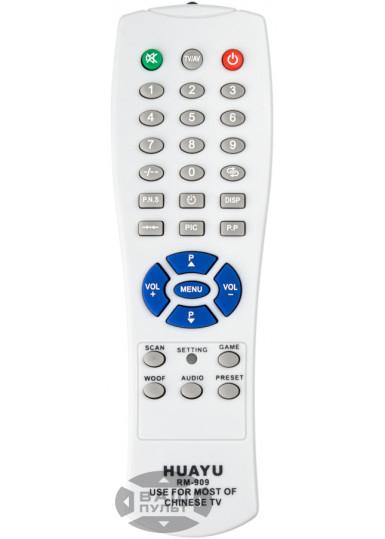 Универсальный пульт HUAYU для CHINA TV RM-909