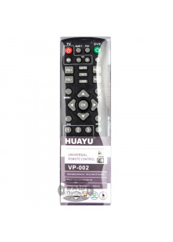 Універсальний пульт HUAYU VP-002 (RM-D1155+) для DVB-T2 тюнерів