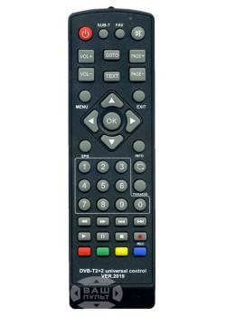 Универсальный пульт HUAYU ver.2019 для DVB-T2+2