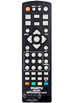 Универсальный пульт HUAYU для DVB-T2 тюнеров RM-D1258 (VP-004)