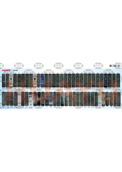 Універсальний пульт HUAYU VP-004 (RM-D1258) для DVB-T2 тюнер - 2