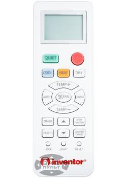 Оригинальный пульт для кондиционера INVENTOR 0010401715BP