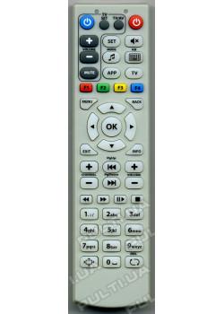 Пульт для MAG 250 c обучаемым блоком для TV, gray
