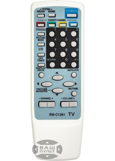 Пульт для JVC RM-C1261