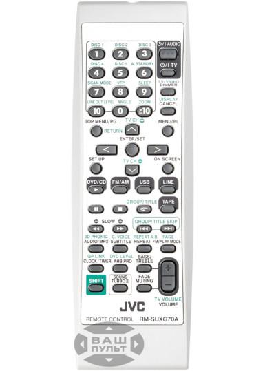 Оригінальний пульт JVC RM-SUXG70A