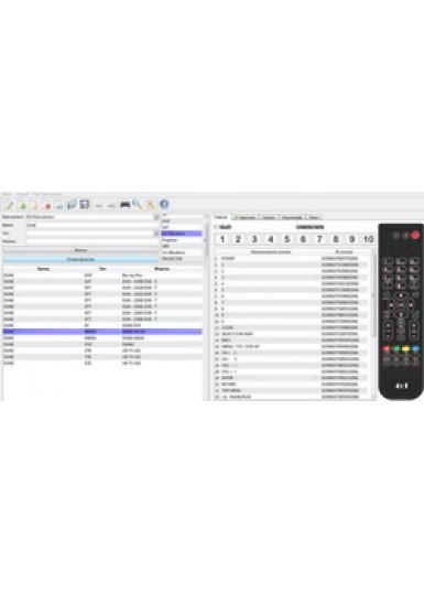 Подбор и конвертация программируемых USB пультов