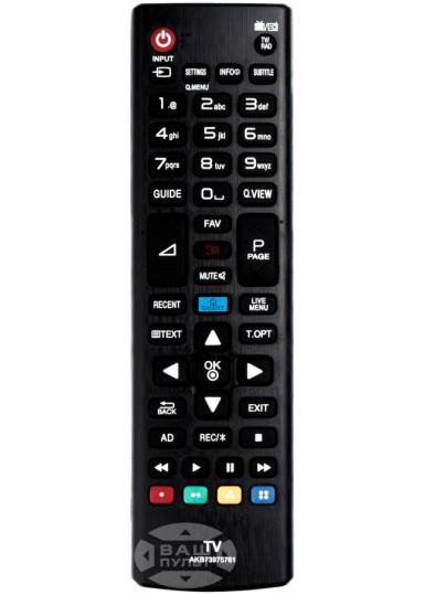 Пульт для LG AKB73975761 (HQ)