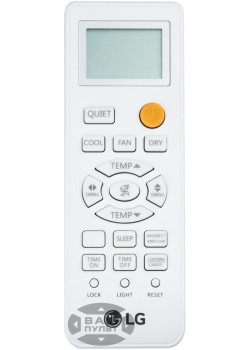 Оригинальный пульт для кондиционера LG 0010401715AD