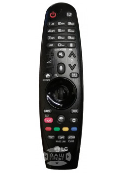 Оригинальный пульт LG AN-MR650A AKB75075326 Magic Motion