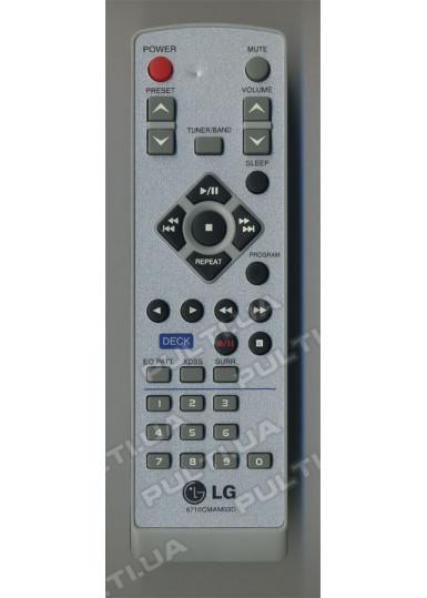 Оригинальный пульт LG 6710CMAM03D