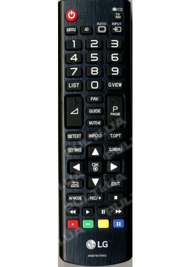 Оригинальный пульт LG AKB74475403