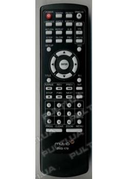 Оригинальный пульт MUVID DVD 170