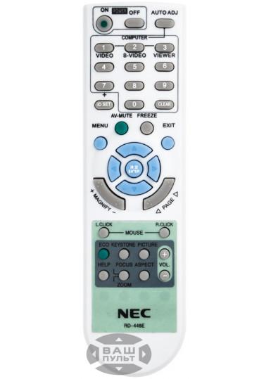 Пульт для NEC RD-448E (7N900926) (аналог)