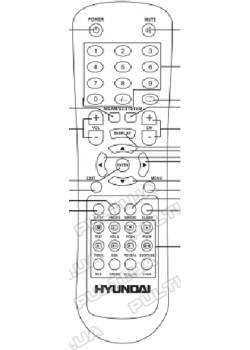 Пульт для NOKASONIC LCD 838 - 3