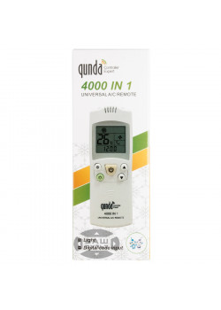 Универсальный пульт для кондиционера QUNDA 4000 in 1 (4000 кодов) - 4