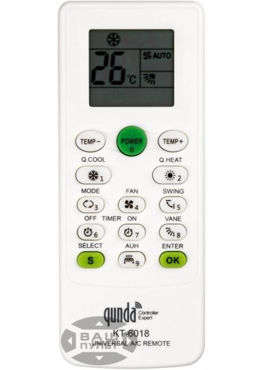 Универсальный пульт для кондиционера QUNDA KT-6018 (6000 кодов)