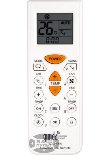 Универсальный пульт для кондиционера QUNDA KT-3999 (4000 кодов)