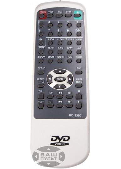 Пульт для RAINFORD KM-118, DVD-3300
