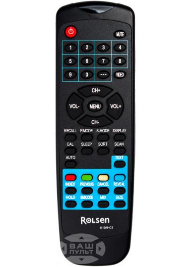Оригинальный пульт ROLSEN K10N-C5