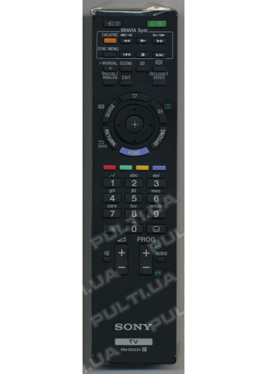 Оригинальный пульт SONY RM-ED034