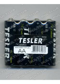 Батарейки  TESLER ECO Series LR06 SIZE AA 4 штуки полиэтилен