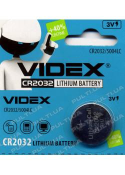 Батарейки VIDEX CR2032 в блистере
