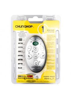 Обучаемый пульт CHUNGHOP RM-L7 (7 кнопок)