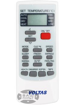 Оригинальный пульт для кондиционера VOLTAS YK-H/006E
