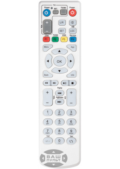 Пульт для ZALA IPTV